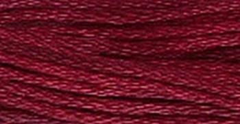 GA Sampler Threads Cranberry 0360