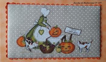Serenita di Campagna Zucche di Halloween CV107