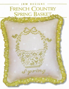 JBW French Country Spring Basket #294