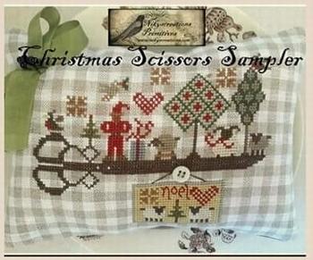 Nikyscreations Christmas Scissors Sampler