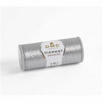 DMC Fil Diamant Grandé G415 Argent foncé
