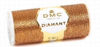 DMC Fil Diamant D301 Cuivre