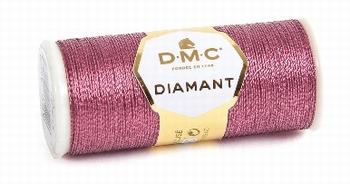 DMC Fil Diamant D316 Rose