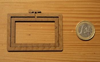 Mini Tambour Rectangulaire Paysage, Grand Modèle