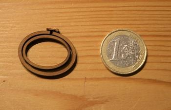 Mini Tambour Ovale Paysage Petit Modèle