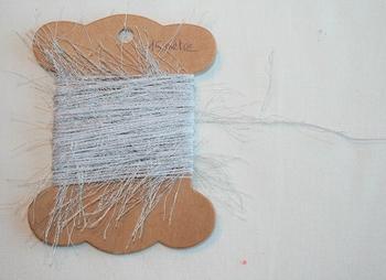 MAB 13 Fil à longs poils Gris argenté
