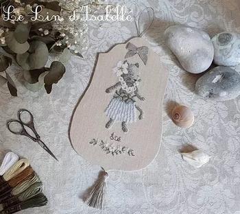 Chaton d'Eté, Le lin d'Isabelle