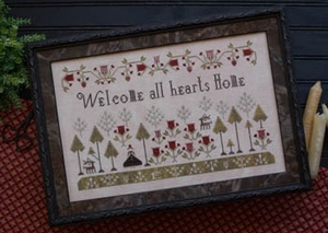 Plum Street Samplers Welcome All Hearts Home