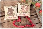 Mme Chantilly Santa's Bear and Baby Bear