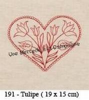 Kit Coeur Tulipe  Un Point c'est tout
