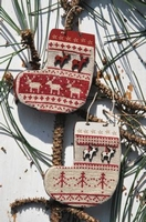 2 bottes Noël nordique Bee Cie PCN6
