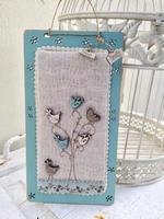 Kit de Patchwork Les Oiseaux Bleux Bee Cie KTB26V