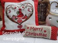 Serenita di Campagna Cuori Merry Christmas CV108