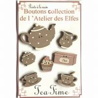 Boutons service à thé Atelier des Elfes