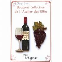 Boutons Le vin Atelier des Elfes