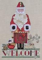 Marnic Design Welcome Santa