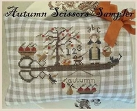 Nikyscreations Autumn Scissors Sampler