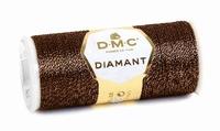 DMC Fil Diamant D898 Brun