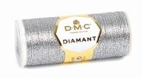 DMC Fil Diamant D415 Argenté Foncé