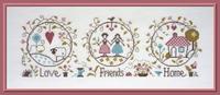 Jardin Privé Love, Friends & Home FT78