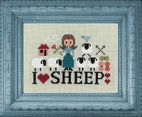 Jardin Privé I love sheep FT84