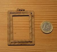Mini Tambour Rectangulaire Portrait Grand Modèle