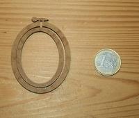 Mini Tambour Ovale Portrait Grand Modèle