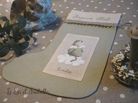 Botte de Noël Chat, Le Lin d'Isabelle