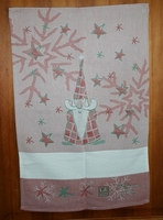 Torchon Gnome de Noël