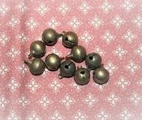 10 grelots bronze 12 mm