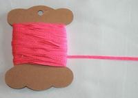 MAB 39 Lacet Rose vif