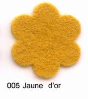 Feutrine Jaune d'Or CP005