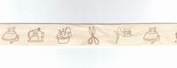 Ruban imprimé Couture S20631 par 50 cm