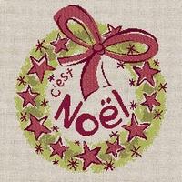 N015 Couronne de Noël