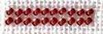 Perles Petite Rouge 6409