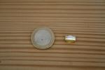 Fermoir griffe doré 7mm