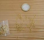 Mini anneaux dorés